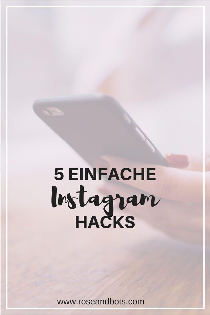 Wenn du Instagram für dein Business benutzt, solltest du dein Profil professionell gestalten. Diese 5 Hacks können dir dabei helfen. #instagram
