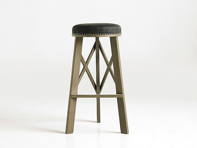 717 X Barstool  Size shown: Seat Height 30'' Diameter 14''top 20''bot Custom sizes available.  #JAM #THEMEANINGOFHOME www.jam-design.com