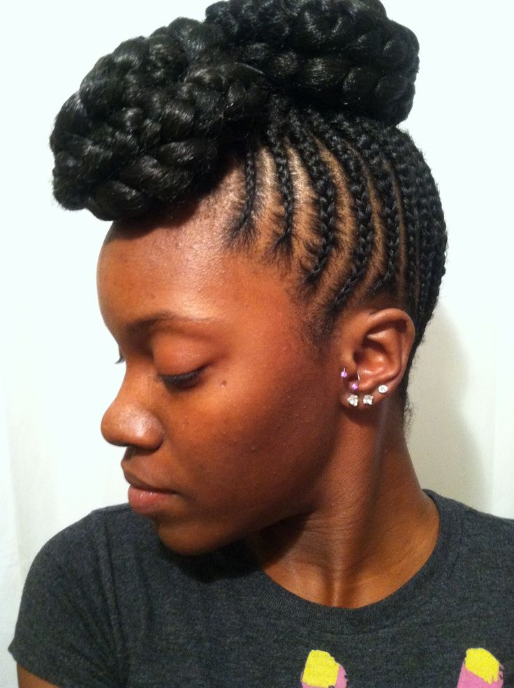 protective style natural hair