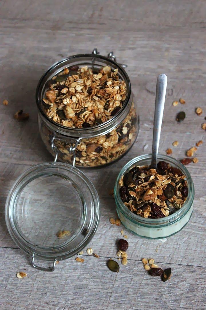 Bonjour Darling - Blog Illustration, Cuisine et DIY Bordeaux: Délicieux Granola Vanille-Raisins secs