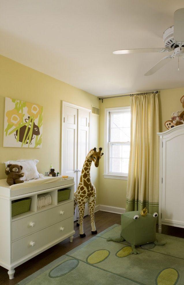 Suzie: Liz Levin Interiors   Adorable Yellow U0026 Green Gender Neutral Nursery  Design With Yellow .
