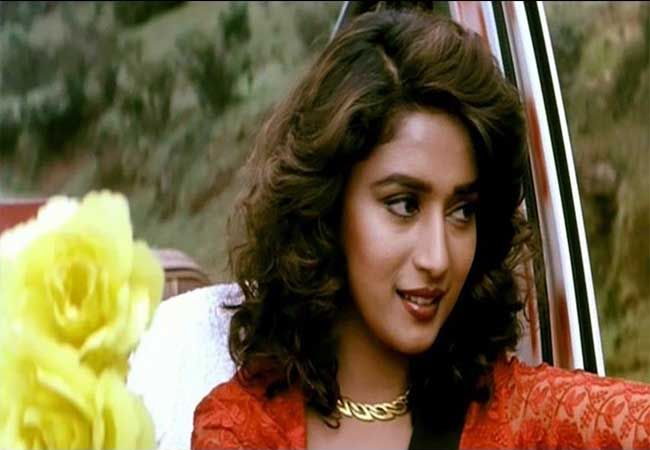 madhuri dixit 90s big hair and brown lips | 90s | Madhuri ...