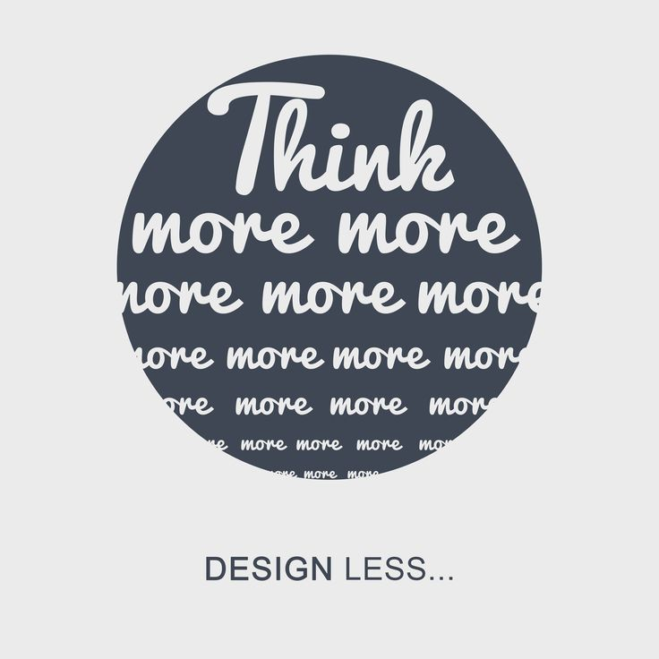 More is less... Think more about your users and less about edgy, overpowering designs. http://www.epicdev.co.za/graphic-design #graphicdesign #durban #southafrica #webdesign #webdevelopment #think #more