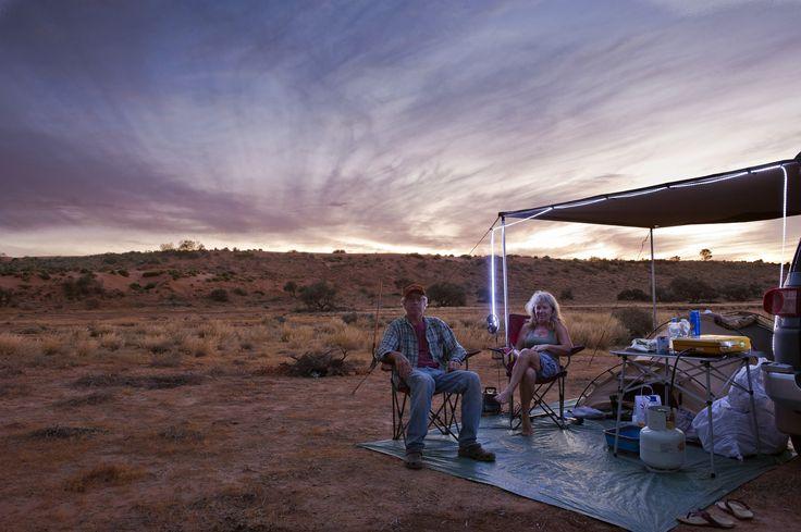 https://flic.kr/p/tupGKX | Camped | Simpson Desert outback australia