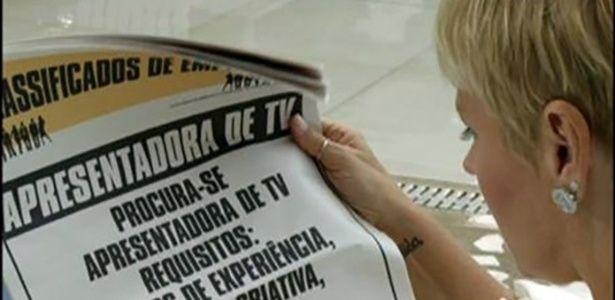 Xuxa aparece procurando emprego em primeira chamada na Record #Apresentadora, #Cachorrinho, #Globo, #Novela, #Novo, #OsDezMandamentos, #Programa, #Record, #Show, #TapeteVermelho, #Xuxa http://popzone.tv/xuxa-aparece-procurando-emprego-em-primeira-chamada-na-record/