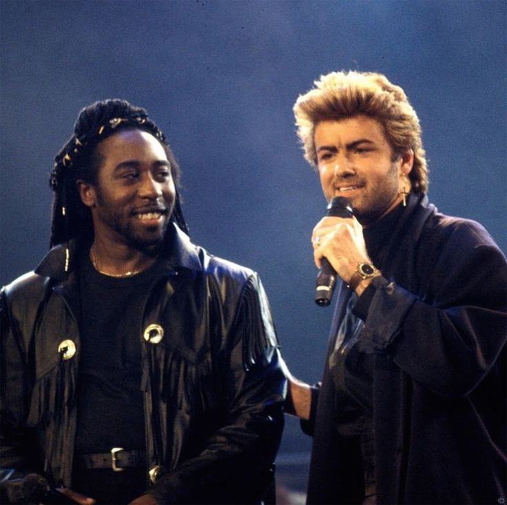 Deon Estus and George Michael