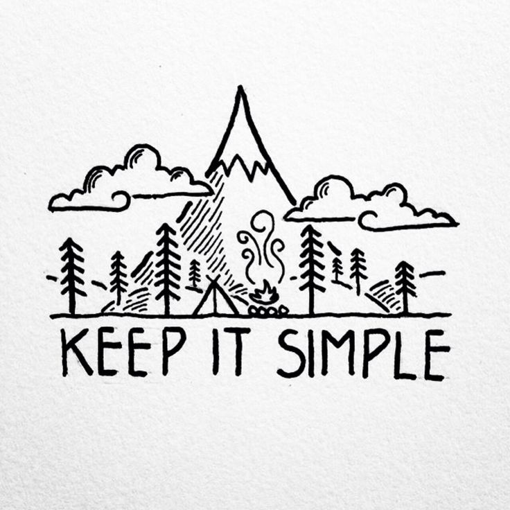 Best 25 keep it simple ideas on pinterest simple for Simple doodle designs with names