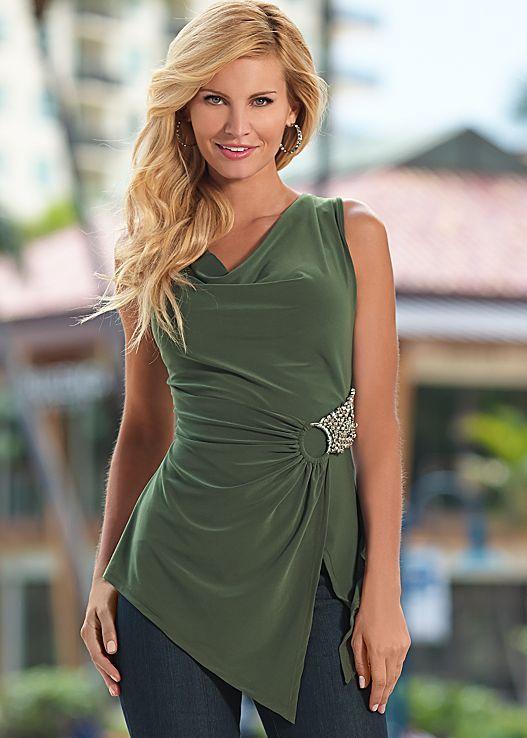 OLIVE Embellished top from VENUS