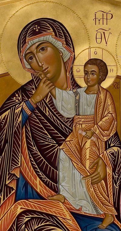 Theotokos detail