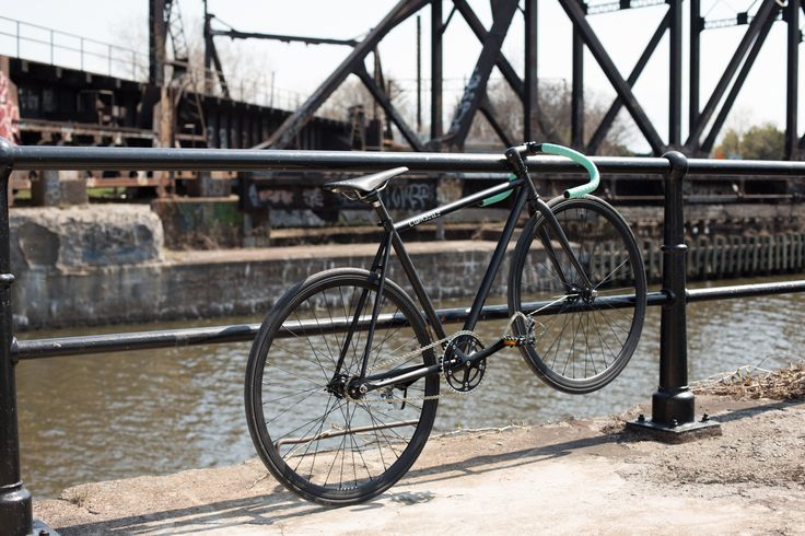 Courselle Cycles - Le Saint-Laurent / Montreal / Fixed gear /Single speed / fixie bike