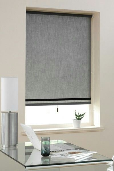 Lovely simple grey blind