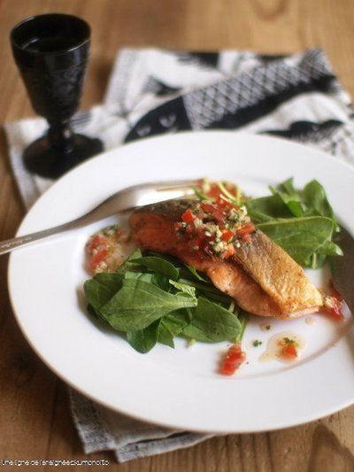 鮭のムニエル・和風ヴィネグレット添え。 by ささきのりこ。さん ... レシピ. 鮭のムニエル・和風ヴィネグレット添え。