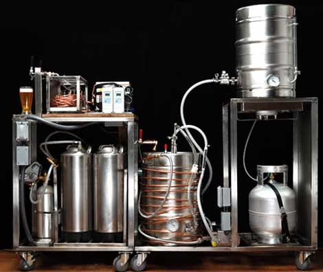Integrated brewing system