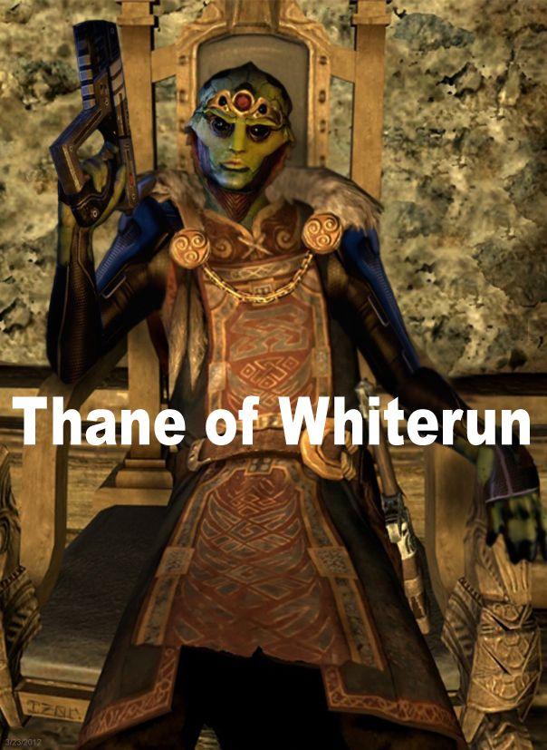 The True Thane of Whiterun. (Skyrim x Mass Effect)