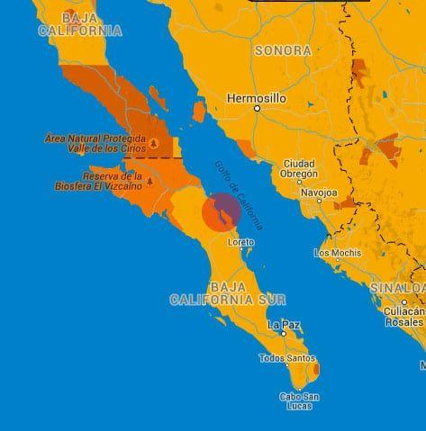 Plan de Bahia Concepcion, Basse Californie