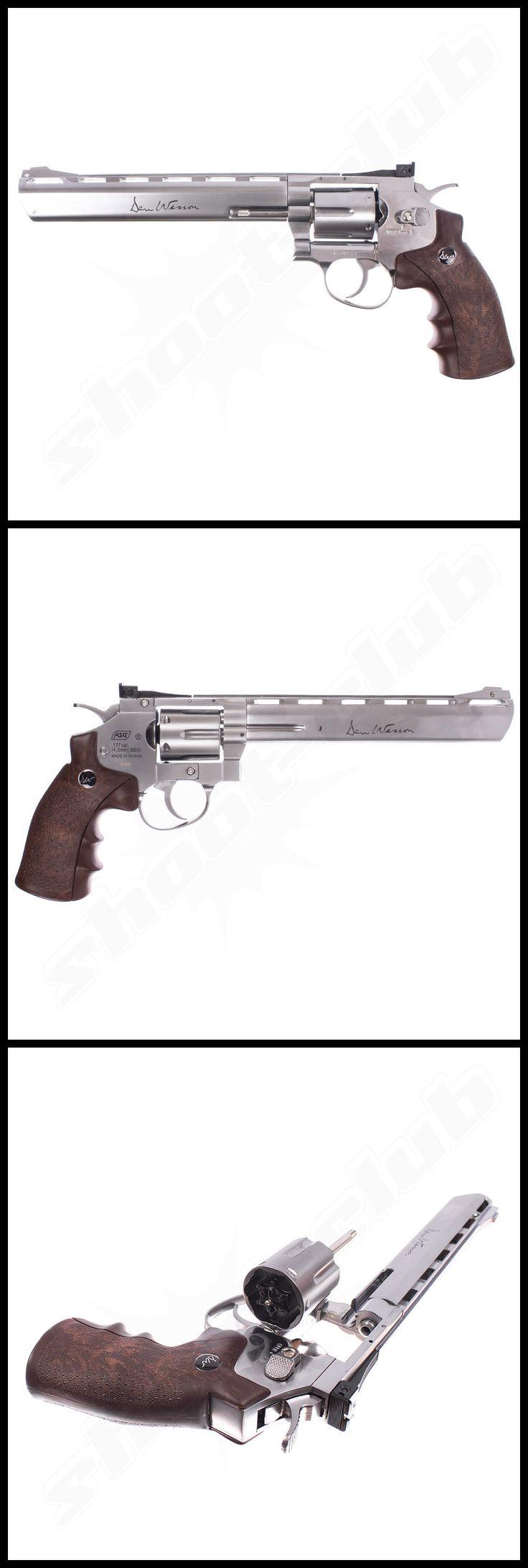 Dan Wesson 8-Zoll Revolver silber im Kal. 4,5mm BB - weitere Informationen und Produkte findet Ihr auf www.shoot-club.de - #shootclub #guns #revolver