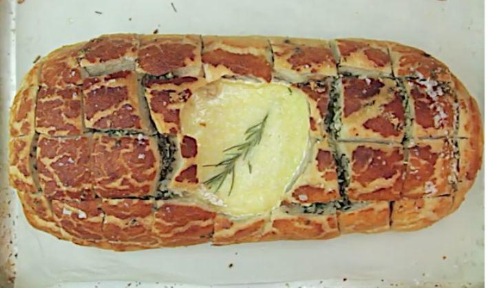 Camembert Hedgehog Bread