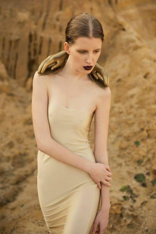 photographed by Martin Svoboda Photography styling Glamour by LR fashion design by Anna Marešková make up Aneta Lozkova hair Karel CharleyZikmund model Lenka Sedlackova