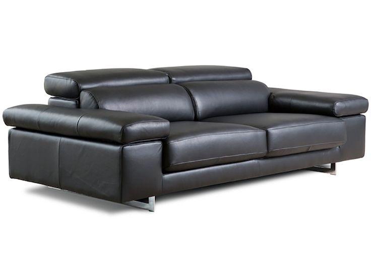 Sofá moderno de 3 y 2 plazas modelo Nina fabricado por Losbu en Sofassinfin.es
