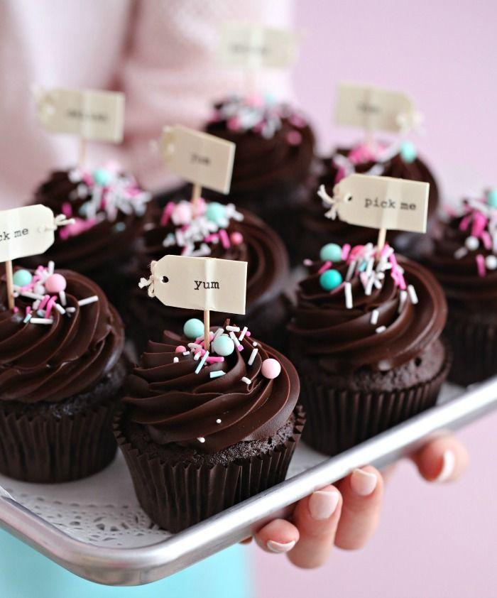 Oltre 1000 immagini su Cup cake su Pinterest  Topper per cupcake ...