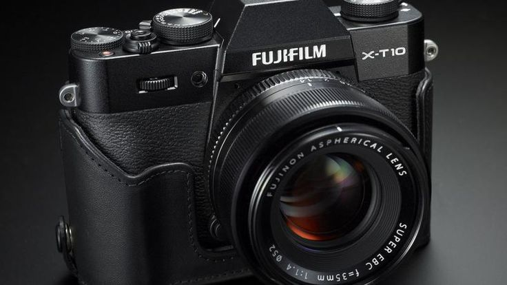 Experience creativity every day with the Fujifilm X-T10 Mirrorless Camera. For the aspiring photo hobbyist, weekend shooter or photography student, theX-T10 builds on the X Series foundation of simplicity and elegance. The camera is great for shooting in almost any situation and its zoom lens brings distant subjects into clear view and utilizes optical image stabilization to deliver sharp photos and smooth footage. It even has built-in-Wi-Fi and offers easy connectivity.