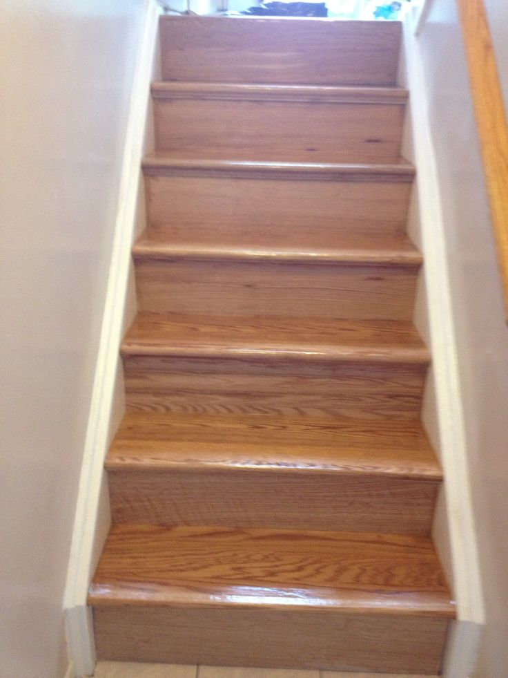 My stairs after