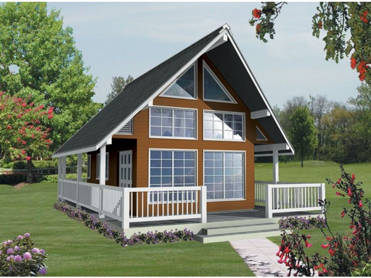 A Frame Cabin Plans 2 Bedroom A Frame Cabin Plans Free Do: 24x36 A-Frame House Plan With 1062 Square Feet And 1