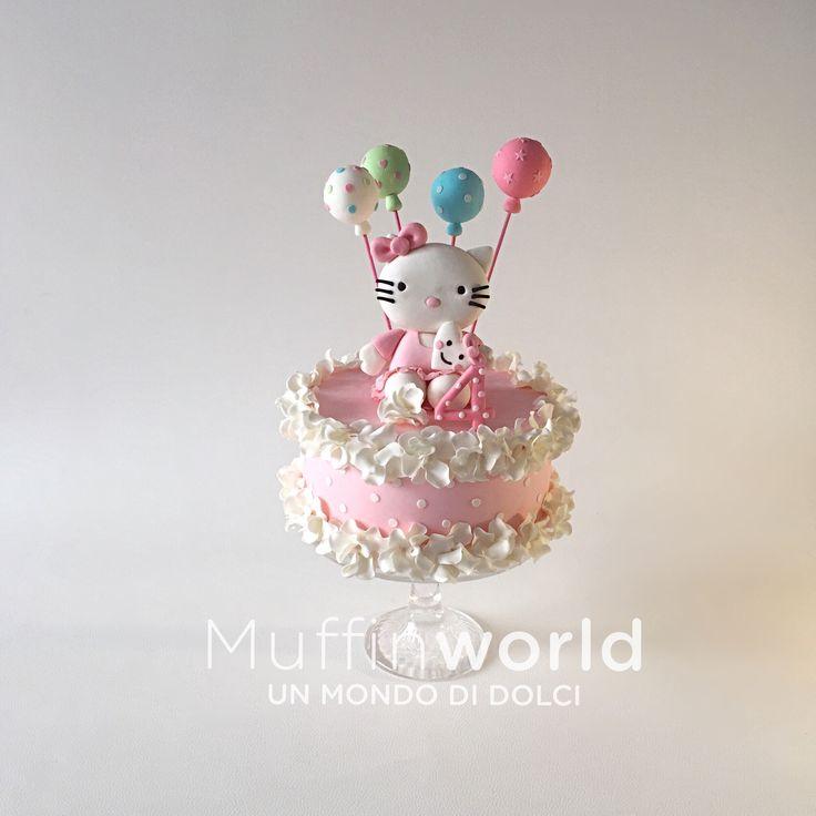Torta per compleanno bambina Hello Kitty Hello Kitty cake