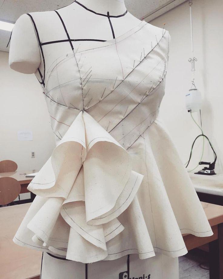 Макетирование в дизайне одежды фото