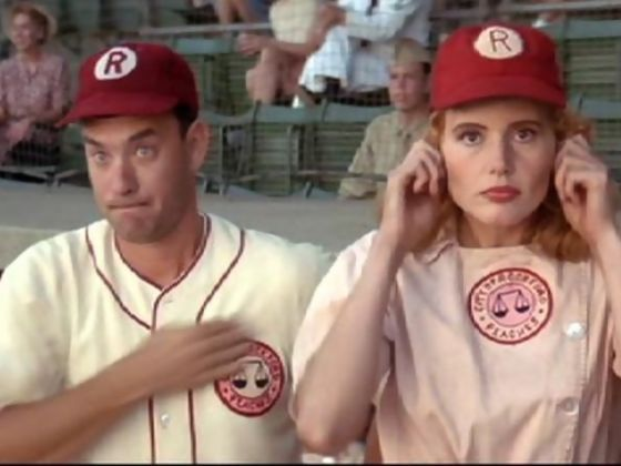 league of their own essay The all-american girls professional baseball league begins in 1943 with a has-been as a manager this summer a league of their own.