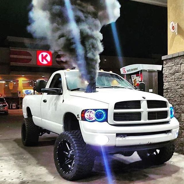 ROLL COAL BABY! Double tap if you love trucks