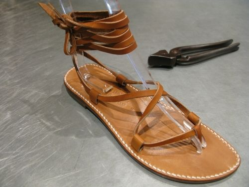 """Dying for a pair of Rondini """"Bikini"""" sandals...too bad they're only available in Saint-Tropez..."""