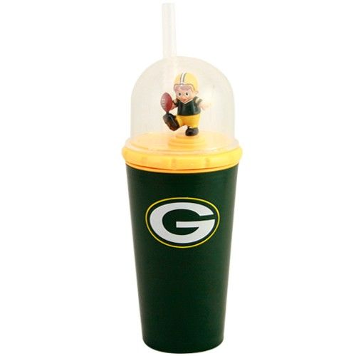 Green Bay Packers Mascot | Green Bay Packers Green Wind-Up Mascot Cup