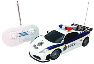 Justice Team Police RC Police Car
