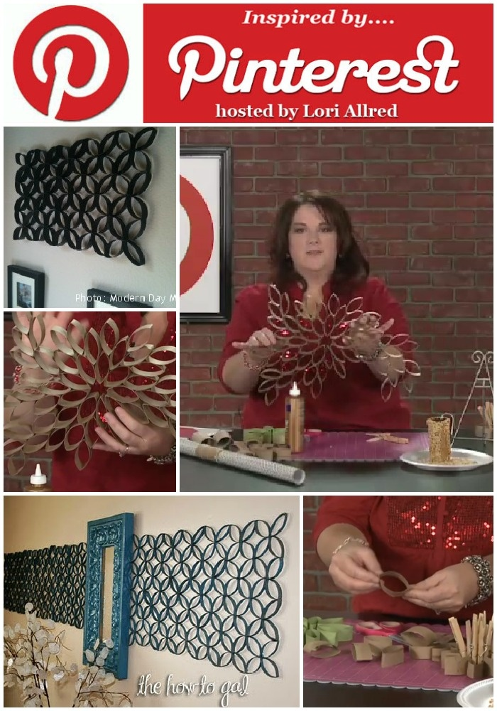Learn how fun and simple crafting with toilet paper rolls can be from inspiring bloggers on this episode on mycraftchannel.com