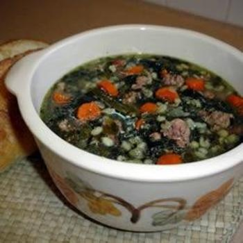 Sausage Barley SoupBarley Soup, Yummy Food, Food Things, Food Yum, Cooking Sausage, Slow Cooker, Sausage Barley, Soup Recipes, Favorite Food