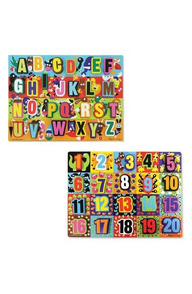 Just arrived at PipSqueak: Chunky Wooden Let... Shop online nowhttp://pipsqueak.nz/products/chunky-wooden-letter-and-number-puzzles-2-pack Check it out!
