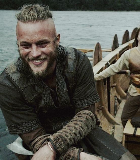 Ragnar Lothbrok, from The Vikings on the history channel. Best show & pretty much one of the sexiest men on the planet