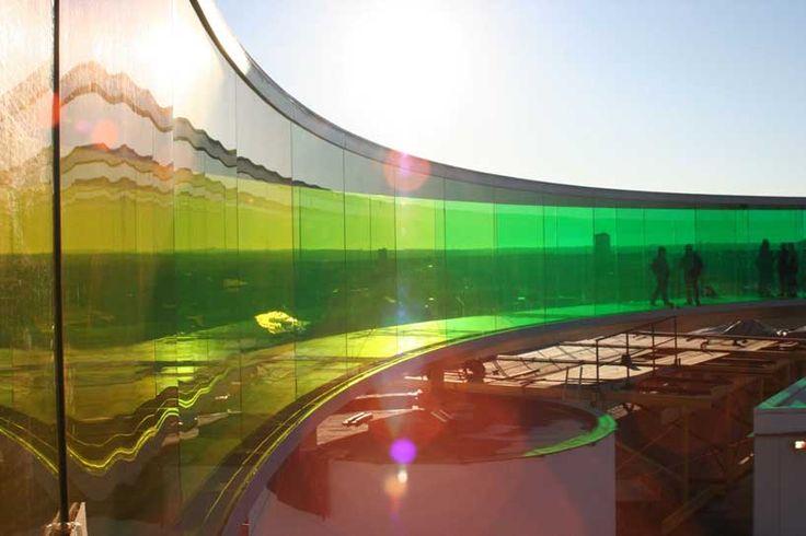 olafur eliasson - rainbow panorama ////