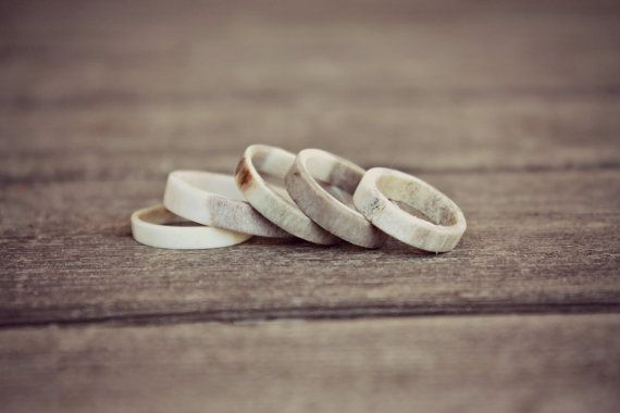 Antler Ring / Natural Antler Ring / Stackable door NORDICJEWELRY