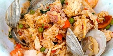 Colombian-Style Seafood, Chicken and Pork Rice (Arroz Mixto Colombiano) | All About Cuisines