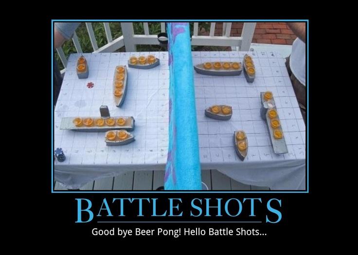 Beer pong meets battleship. And um, liquor. | Random ...