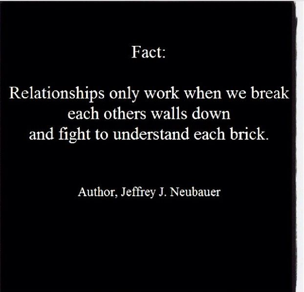 dating and breaking down wall quotes