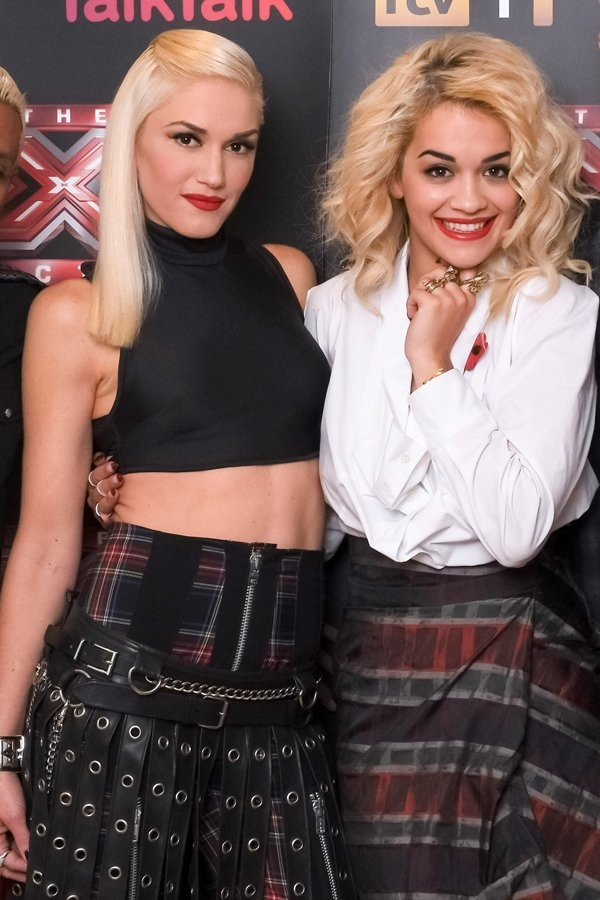 Tartan trend: Gwen Stefani…
