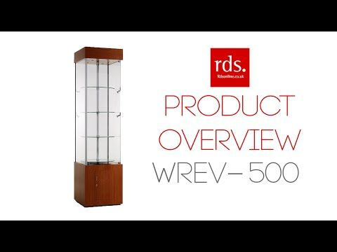WREV-500 Wooden Revolving Showcase - Tall Wooden Cabinets - Wooden Cabinets Range - Display Cabinets