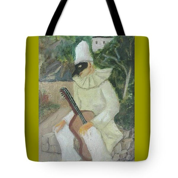 Tote Bag featuring the painting Cl 015 by Camillo Liardi
