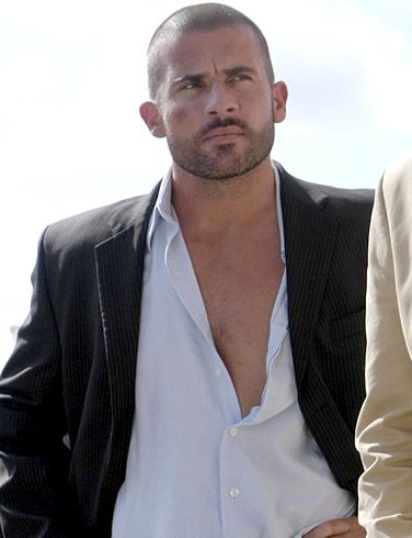 dominic purcell - tough guy!