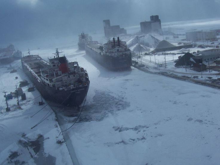 Winter on the canal....Port Colborne, Ontario