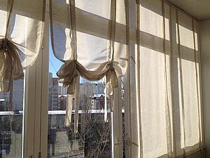 Как сшить стильные шторы для лоджии | Ярмарка Мастеров - ручная работа, handmade