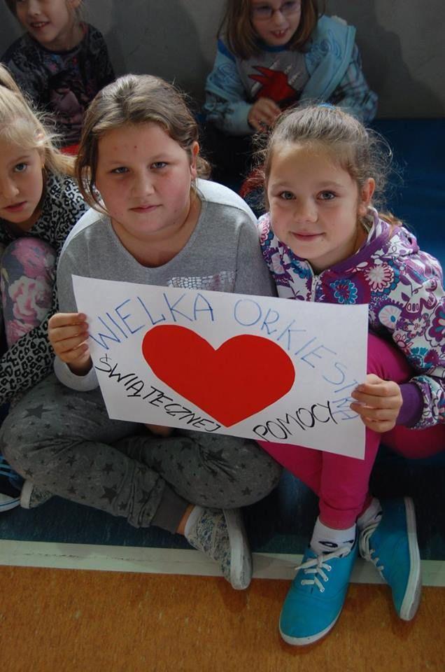 Szkoła Podstawowa w Librantowej wzięła udział w biciu rekordu w resuscytacji krążeniowo-oddechowej.  www.rekord.wosp.org.pl